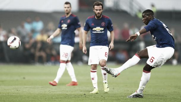 Neither Mata nor Pogba made enough of an impression in Rotterdam | Photo: Sky Sports