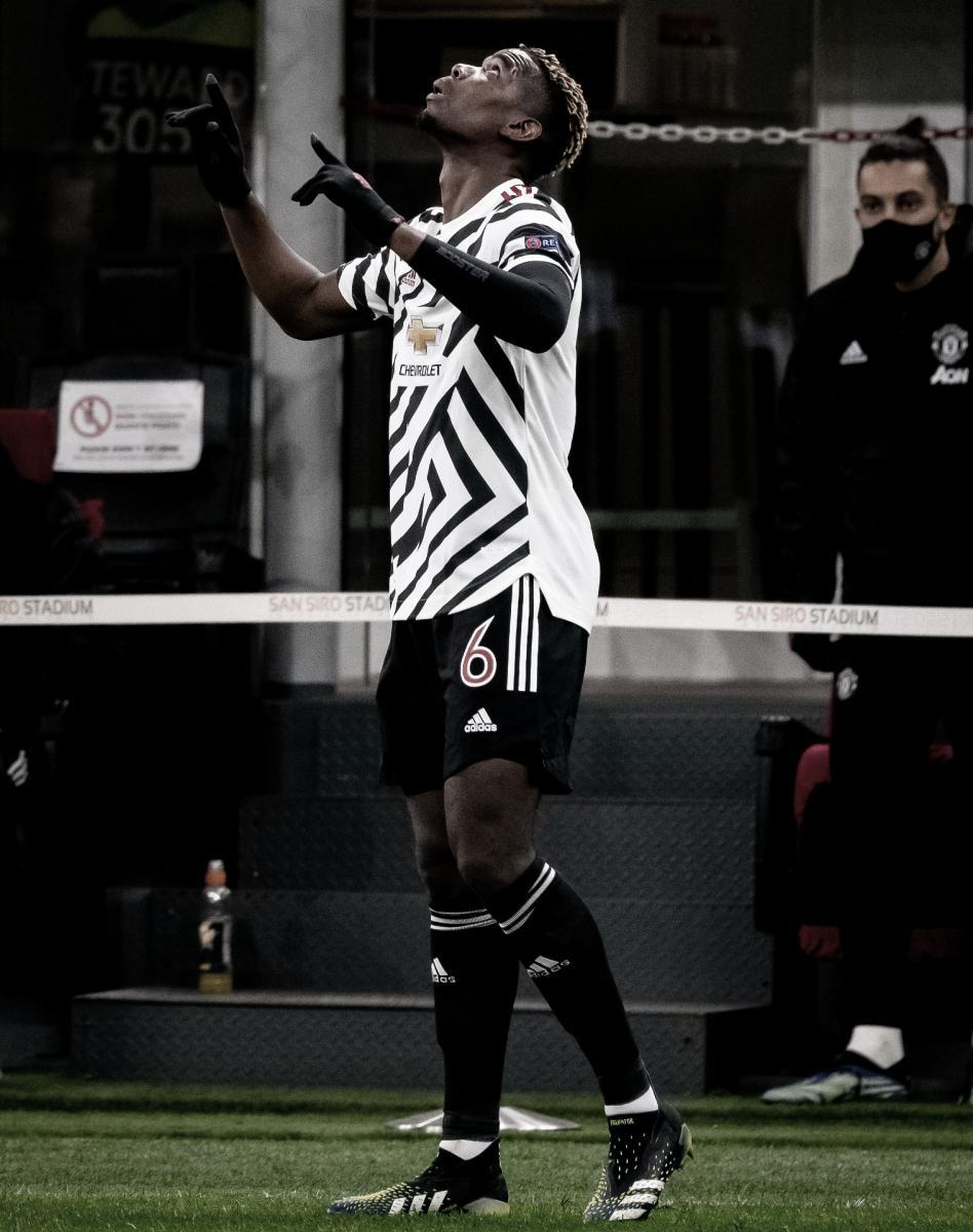 Celebración del gol de Pogba./ Foto: Europa League
