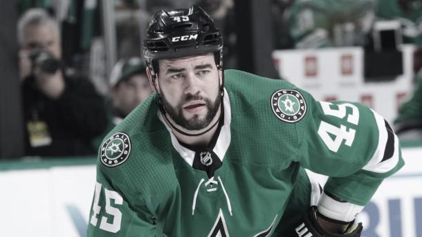 Polak con los Stars | Foto:NHL.com