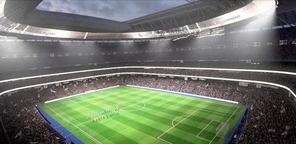 Nuevo Santiago Bernabéu por dentro. Fuente: Real Madrid