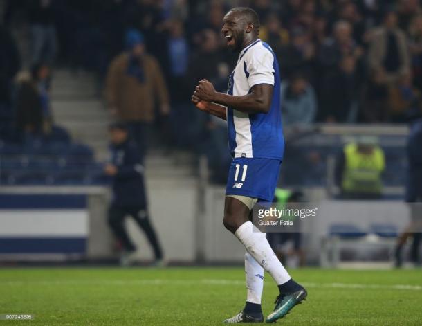 Moussa Marega puso en ventaja al Porto / Foto: gettyimaes