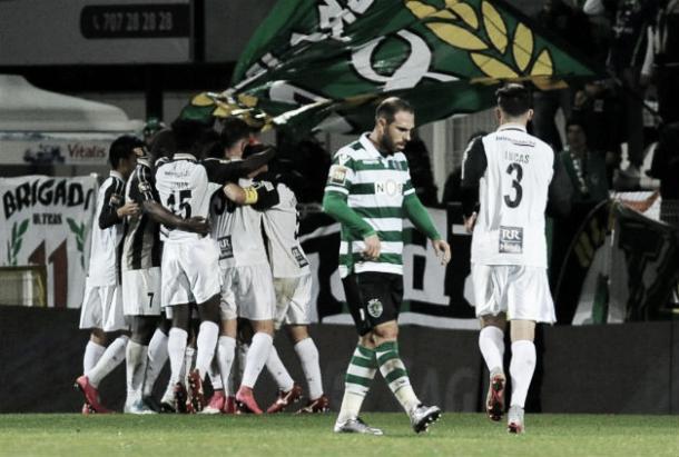 Portimonense derrotou o Sporting por 2-0 (Foto: ojogo.pt)