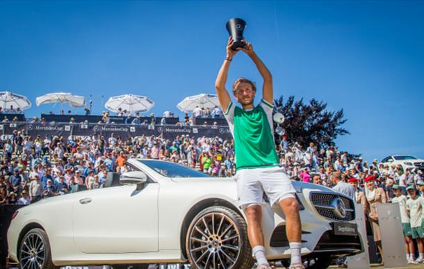 Recent Stuttgart winner Pouille could challenge Federer (Photo: Getty Images/Thomas Niedermueller)