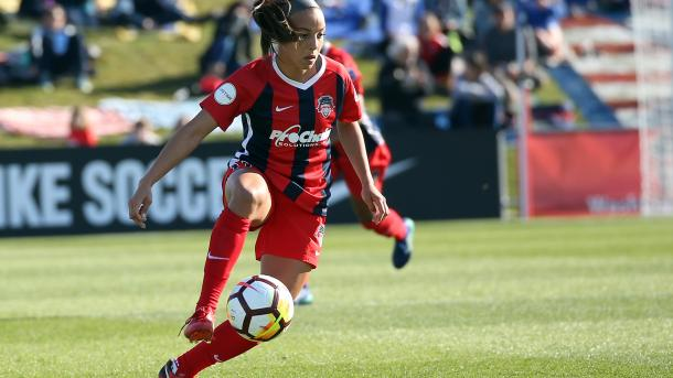 Pugh in action against Orlando this weekend | Source: Tony Quinn-Isiphotos.com