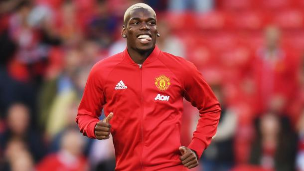 Pogba has more than enjoyed his return to Old Trafford. | Image source: Sky Sports