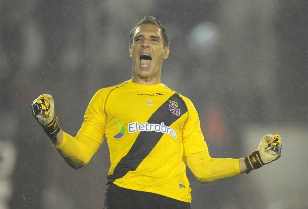 Prass sagrou-se como ídolo do Vasco em sua passagem pelo clube (Foto: Juan Bromata/AFP/Getty Images)