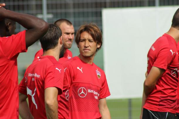 Stuttgart training have been hard ahead of pre-season. | Source: VfB Stuttgart