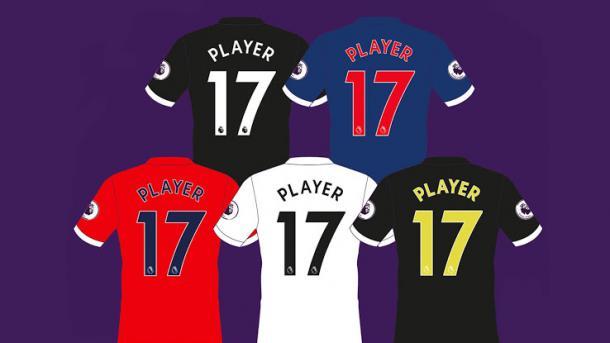 Una foto más de la nueva tipografía | Foto: Premier League