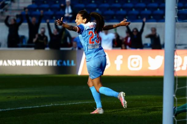 Christen Press was back to her best last week. Source: Chicago Red Stars