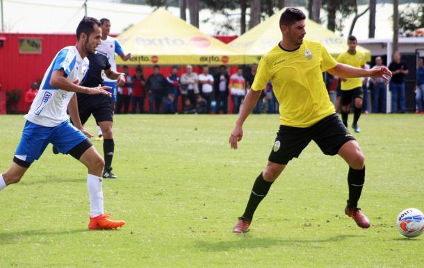 Almirón en uno de los encuentros de pretemporada / Foto: Prensa Deportivo Táchira