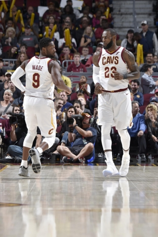 Dwyane Wade will re-team with LeBron James in Cleveland. Photo: David Liam Kyle/NBAE via Getty Images