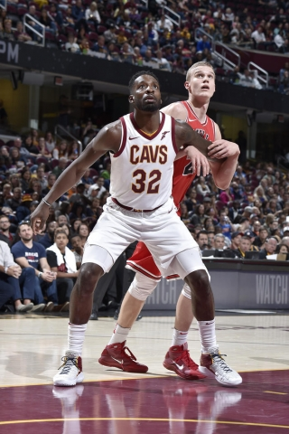 Jeff Green signed with the Cavaliers in the offseason. Photo: David Liam Kyle/NBAE via Getty Images
