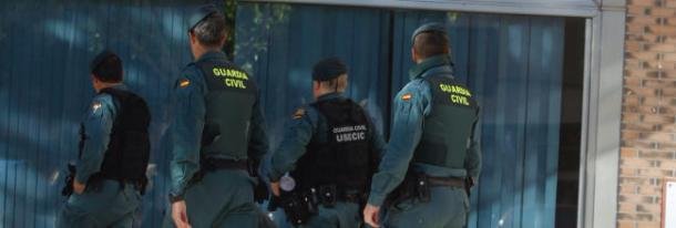 Guardia Civil. Image: EFE