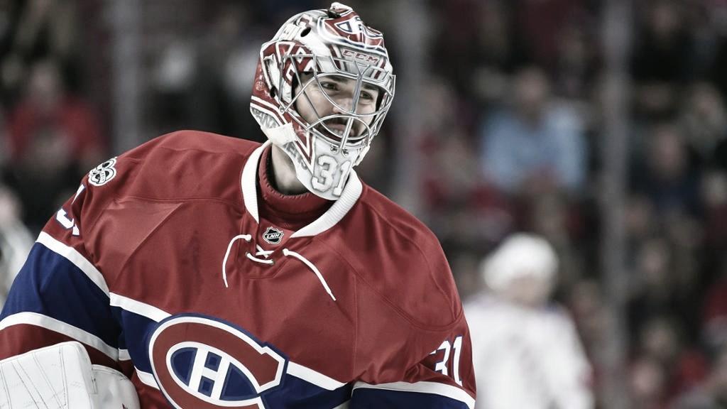 Carey Price es el puntal de la actuación de Montreal en playoff  Foto: NHL.com