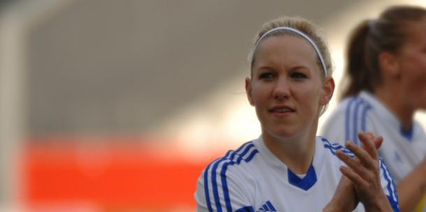 Marith Priessen scored the final spot kick (Source: FFC Frankfurt)