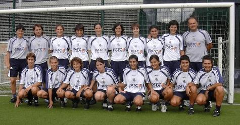 Primero plantel femenino de Real Sociedad en la Liga Iberdrola// Foto: Realsociedad.com
