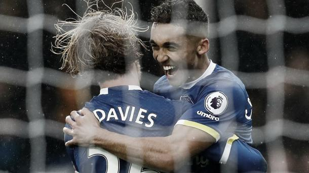 Primer gol con la camiseta del Everton./ Foto: Premier League
