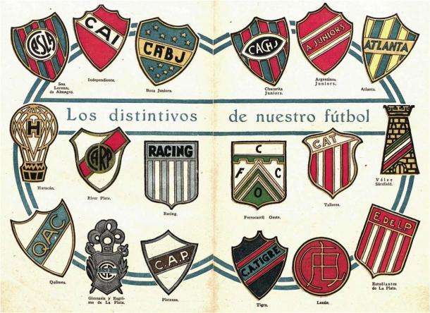 Los 18 equipos de Primera, en 1931. Tigre, entre ellos. (Foto: rhdelfutbol).