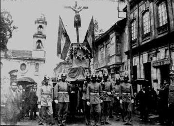 Procesión de Santa Librada. Semanario El Tiempo de 20 de julio de 1931. Colección flikr de Jaime de Almeida