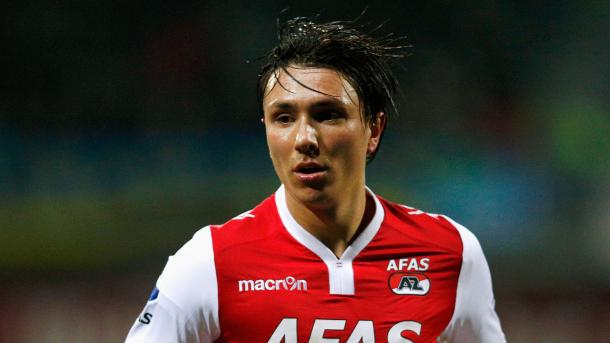 The winger during his AZ Alkmaar days (Photo: Getty Images)