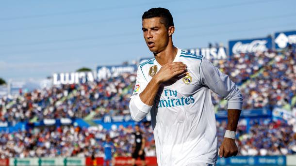 Ronaldo regala il successo al Real Madrid: battuto 1-2 il Getafe