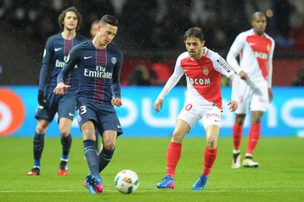 Azione di gioco tra PSG e Monaco | Source: Foot01