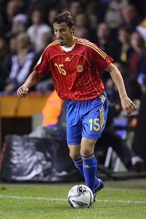 Página web de la Selección Española de Fúbol