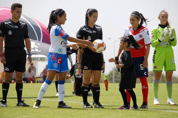 Puebla debutó con triunfo en la Liga MX Femenil | Foto: Club Puebla