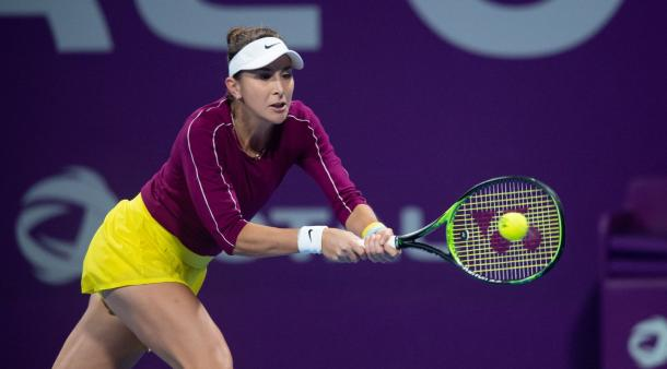 Bencic bounced back after a tough second round with a much easier third round victory/Photo: Daniel Korpatsch