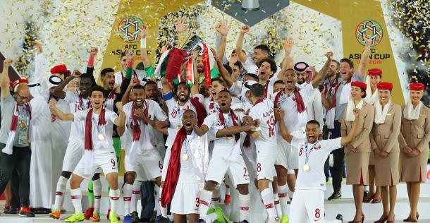 Qatar dio el golpe y festejó la Copa Asia (Foto: Depor).