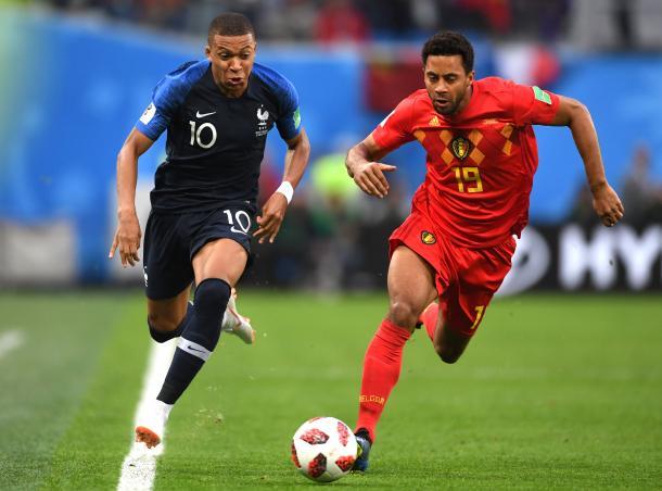Mbappé está cuajando un gran torneo. Fuente: FIFA.