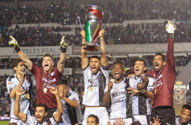 Gallos obtenía su primer título de copa en Primera División / Foto: El País