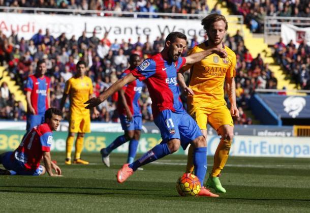 Último partido entre Barcelona y Levante / Fuente:levanteud.com