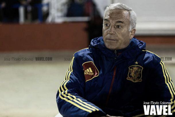 Ignacio Quereda en sus días como seleccionador I Foto: Jose María Calomo (VAVEL)