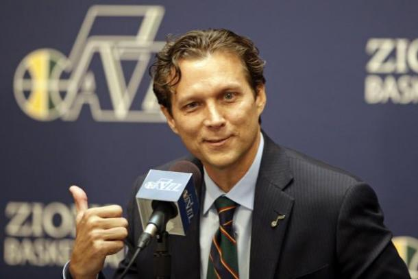 Quin Snyder and the Utah Jazz have snuck up in the Western Conference and have made a name for themselves. Photo: Rick Bowmer/Associated Press