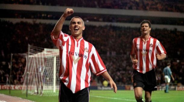 Kevin Phillips (left) scored over 100 goals for the Lads. | Photo: FourFourTwo