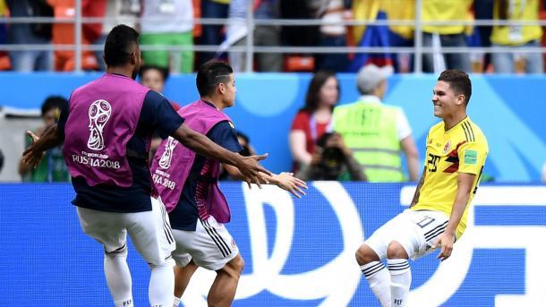 El gol de Quintero, que fue poco más que un bálsamo. Foto: es.fifa.com