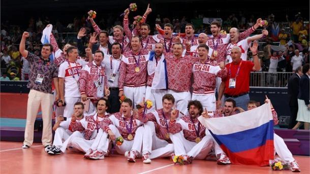 De virada, Rússia bateu Brasil na final e garantiu ouro nos Jogos Olímpicos de Londres (Foto: london2012.com)