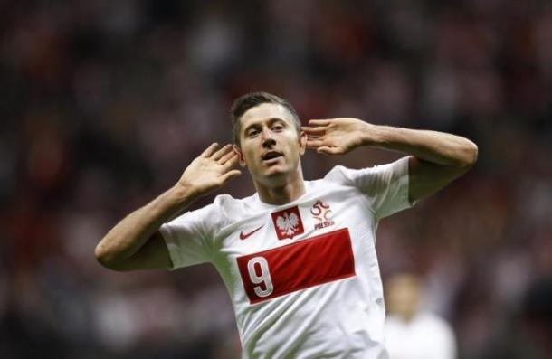 Robert Lewandowski is the star of a Poland squad that brings few surprises. (Photo: Reuters)
