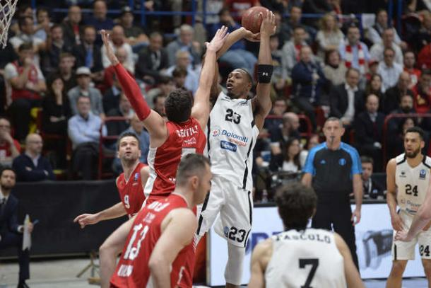 EA7 Milano vs. Dolomiti Energia Trento, eurocupbasketball.com