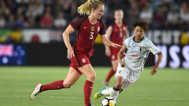 Sam Mewis and five other Courage players will miss their Week 17 match-up | Photo: Chris Williams/Icon Sportswire