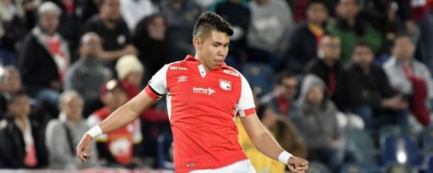 Hernández está en condición de préstamo con opción de compra a Atlético Nacional. Imagen: Getty Images.