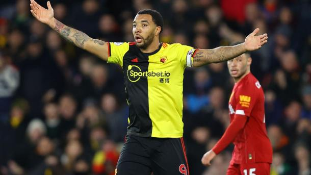Troy Deeney, capitán del Watford. Foto: Getty Images