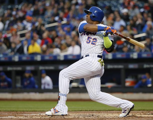 Cespedes was once again the focal point of the Mets offense in 2016, leading the team back to the playoffs and he returns to Flushing until 2020/Photo: Kathy Willens/Associated Press