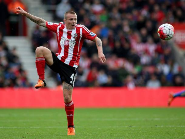 Clasie in action for the Saints | photo: voetbal.com