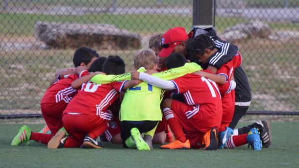 Miembros de la academia de FC Dallas. // Imagen: FC Dallas