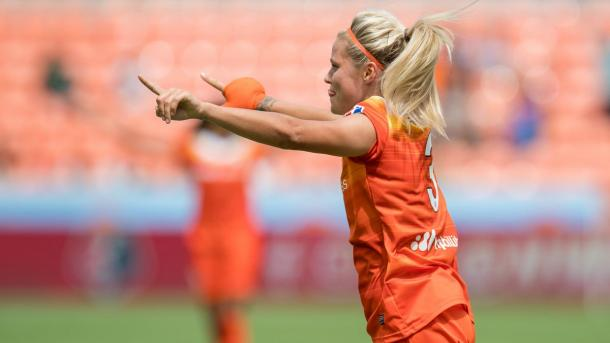 Rachel Daly is certainly one to watch. Source: Houston Dash