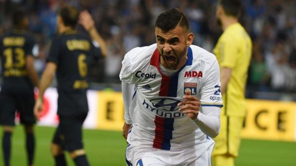 Above: Rachid Ghezzal has been the subject of a reported bid from West Ham | Photo: Sky Sports