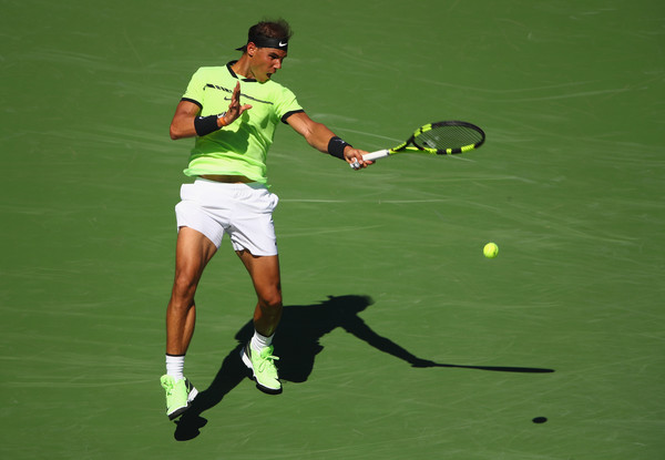 Nadal will be looking to win a fourth title here at the Californian Desert (Photo by Clive Brunskill / Getty Images)