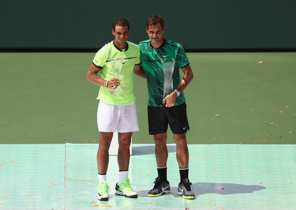 The two former world number ones have 32 Grand Slam singles titles between them (Photo by Julian Finney / Getty)